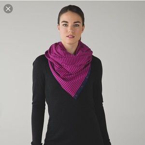 EUC vinyasa scarf